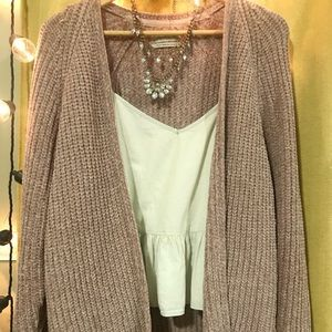 Lavender Urban Outfitters Cardigan